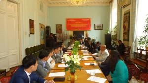 """Hội thảo """"Cơ hội và thách thức đối với doanh nghiệp Việt Nam sau khi Nga gia nhập WTO và tiến trình đàm phán VCUFTA"""""""