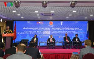 Bước đột phá trong kim ngạch thương mại song phương Việt – Nga