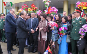 Thủ tướng Nguyễn Xuân Phúc bắt đầu thăm chính thức Liên bang Nga