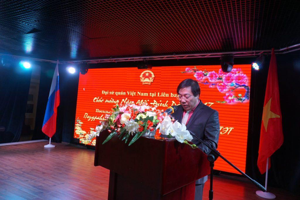 Đại sứ quán Việt Nam tại LB Nga tổ chức chiêu đãi Mừng xuân Đinh Dậu 2017