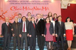 Cộng đồng người Việt Nam tỉnh Svetlốp đón chào Xuân Đinh Dậu